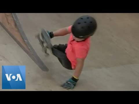 10-Year-Old Skateboarder Without Legs Goes Viral