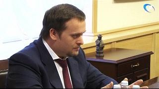 ВРИО губернатора Новгородской области Андрей Никитин встретился с мэром Юрием Бобрышевым