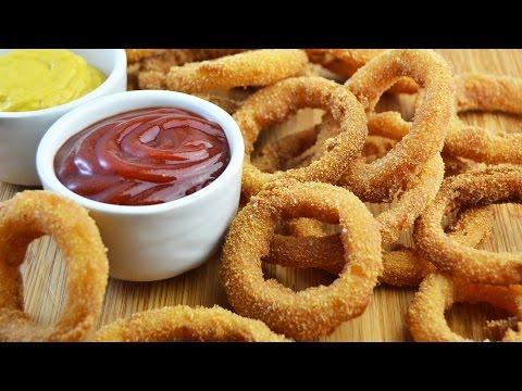 Aros de Cebolla Crujientes (Onion Rings) | Recetas de Aperitivos