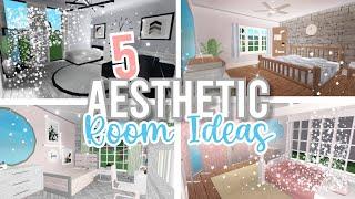 5 Room Ideas In Bloxburg *AESTHETIC* | Roblox Bloxburg | PurpleSky