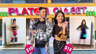 Who Can Find the CUTEST OUTFIT in a Thrift Store - Challenge | Txunamy