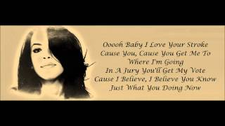 Aaliyah - Rock The Boat Lyrics HD