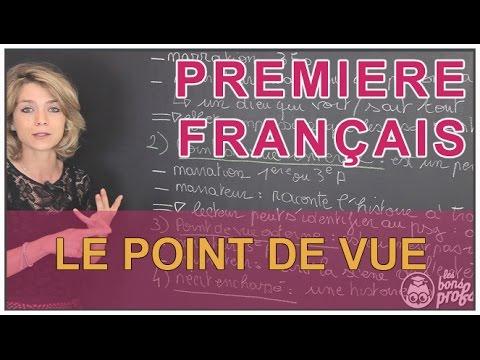 Le point de vue : omniscient, externe ou interne ? - Français Première - Les Bons Profs