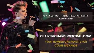 Claire Richards | Live | On My Own