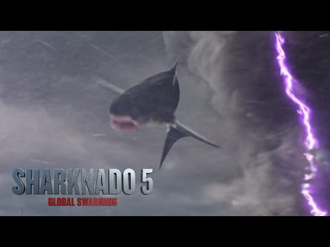 The Sharknado 5 trailer has virtually no sharks for some purpose · Coming Distractions · The A.V. Membership