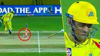 Dhoni Creates Magic, But Bails Still Don't Fall | CSK Vs KXIP Highlights | IPL 2019