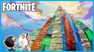 We BUILT the BURJ KHALIFA in Fortnite: Battle Royale! (Fortnite Funny Moments & Fails)