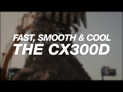 North America: CASE CX300D Fast, Smooth and Efficient for BP Construction