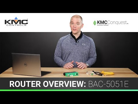 BACnet Router Overview – BAC-5051E