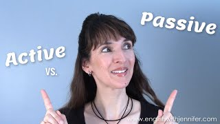 How and When to Use the Passive Voice 🤔 English Grammar