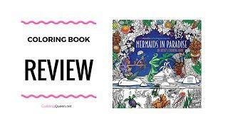 Mermaids In Paradise Coloring Book Review