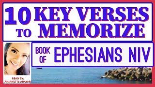 Bible Memory Verses NIV - Bible Verses To Memorize  - Book Of Ephesians NIV - Bible Verses NIV