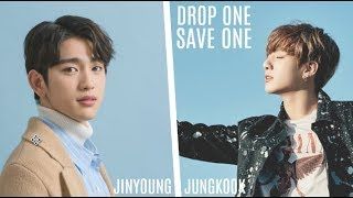 DROP ONE, SAVE ONE, (MALE IDOLS EDITION)