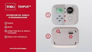 Toro Tempus Modulo 1 Italian