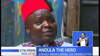 ANDULA THE HERO: A story of sacrifice, resilience and the ultimate commendation