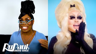The Pit Stop S13 E12 | Trixie Mattel & Monét X Change Fire Up A Roast | RuPaul's Drag Race