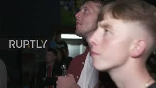 Ireland: Fans clutch heads in despair as McGregor loses to Khabib