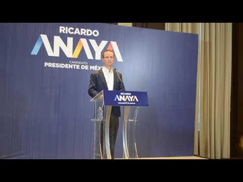Ricardo Anaya reconoce el trabajo periodistico