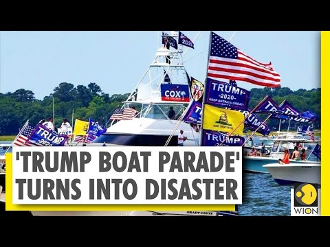 Several boats sank on Lake Travis in Texas during 'Trump Boat Parade' | US | America