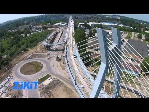 Kraków: we wrześniu tramwaje pojadą nową estakadą