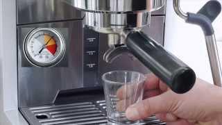 2. Graef Espressomaschine ES 85 und Kaffeemühle CM 800 - Den optimalen Espresso zubereiten