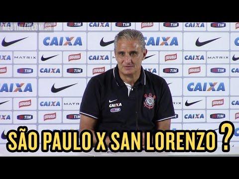 Tite responde para quem torcerá no partida entre São Paulo X San Lorenzo
