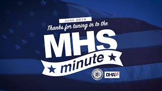 MHS Minute - June 2019