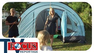 Camping extrem: Zelten mit der Großfamilie   Teil 2   Focus TV Reportage