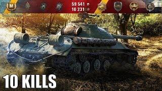 10 фрагов на ИС-3 🌟🌟🌟 карта: Лайв Окс World of Tanks лучший бой на ИС-3 wot