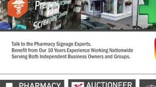 Pharmacy - Signage is a Big Topic