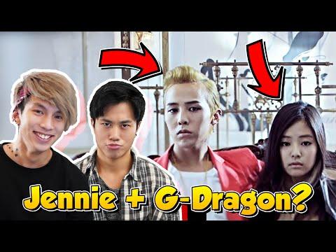 G-DRAGON w/ BLACKPINK JENNIE -  THAT XX  MV | KPOP REACTION
