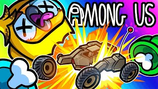 Among Us Funny Moments - Blowing Each Other Up Using RCXD Cars!