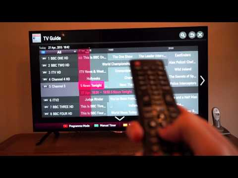 LG Smart TV Review and Demo 49UB820V