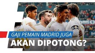 Pemain Barcelona Setuju Gaji Dipotong 70%, Real Madrid akan Lakukan Hal Serupa