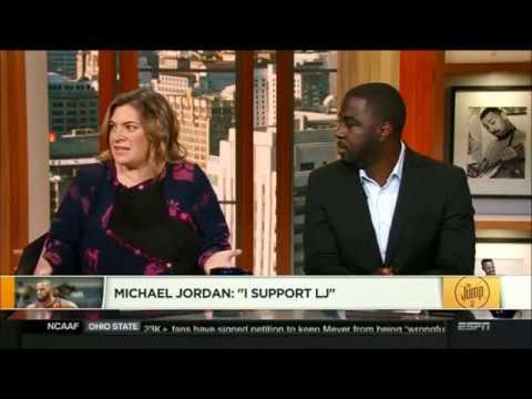 "Michael Jordan: ""I Support LeBron James The GOAT"" NBA The Jump"