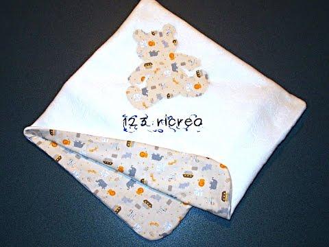 Coperta per culla - Blanket for cot - DIY