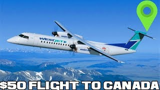 Gambar cover 50 Dollar DIRECT Flights To Canada (36 Hours In Canada)