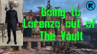 Fallout 4 | What Happens If You Go To Lorenzo Straight Out of The Vault?