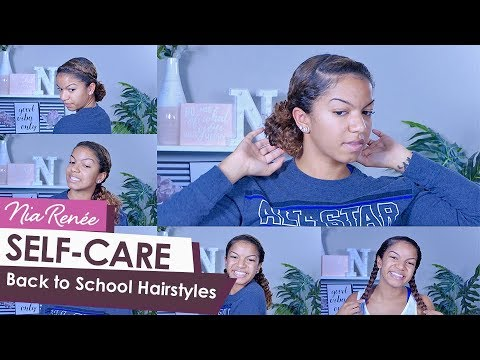 6 Quick Back To School Curly Hairstyles