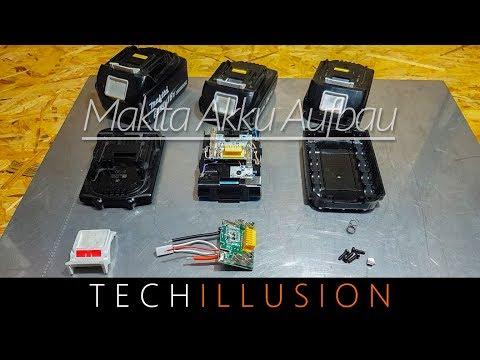 🛠WAS STECKT IN EINEM MAKITA AKKU?! - Aufbau eines Lithium-Ionen Akkus von Makita