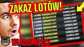 Wchodzi ZAKAZ LOTÓW! Już z Polski NIE WYLECISZ | WIADOMOŚCI