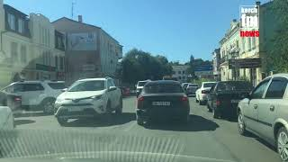 пробка на Самойленко в Керчи