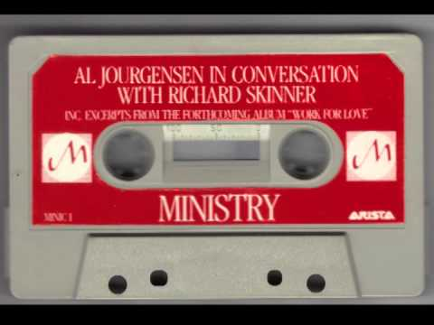 Al Jourgensen In Conversation With Richard Skinner: MINISTRY interview 1983 & WITH SYMPATHY excerpts