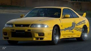 GT Sport:Leon's FNF R33 Skyline GTR + 400HP FC RX7 Street & Track Testing