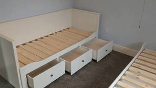 VIDEO: 8-Door Ikea Pax Wardrobe, Hemnes Day Bed and Stuva Storage - Assembled in Gorseinon, Swansea