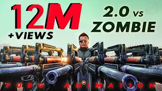 2.0 Chitty vs Zombie  PUBG animation   Full video