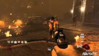 How to get all 6 perks !! (TOWN) Black Ops 2 (ZOMBIES) Gameplay (Tutorial)