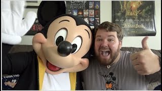 DISNEY SENT MICKEY MOUSE TO MY HOUSE!