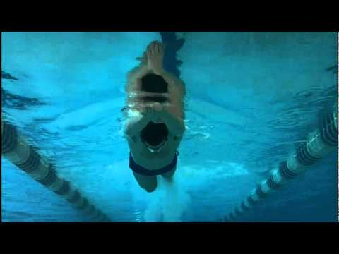 "Stomach kick (Balance, especially for ""head/shoulders up"" swimmers) (Drill 1)"