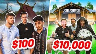 SIDEMEN $10,000 vs $100 CAMPING